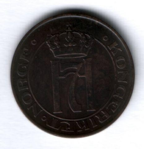 5 эре 1911 г. редкий год Норвегия