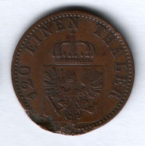 3 пфеннига 1867 г. Пруссия