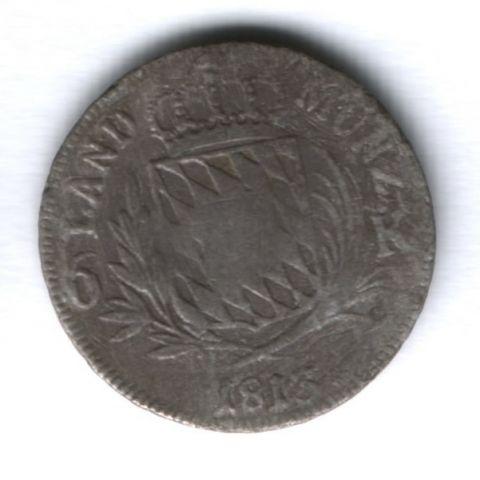 6 крейцеров 1813 г. Бавария