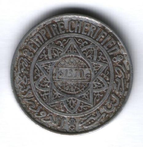 5 франков 1951 (1370) г. Марокко