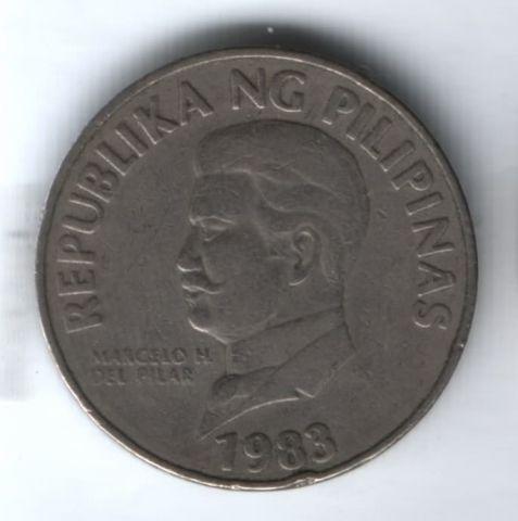 50 сентимо 1983 г. Филиппины