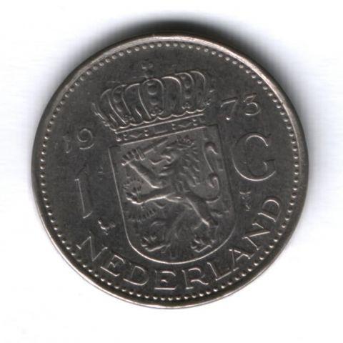 1 гульден 1973 г. Нидерланды