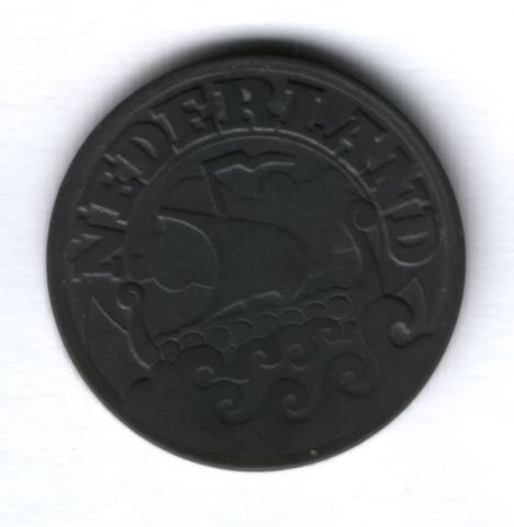 25 центов 1941 г. Нидерланды