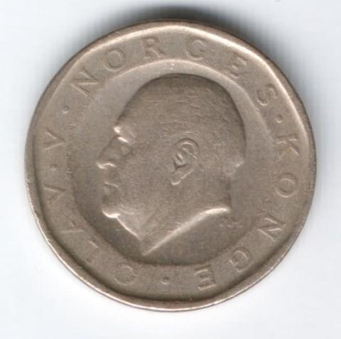 10 крон 1983 г. Норвегия