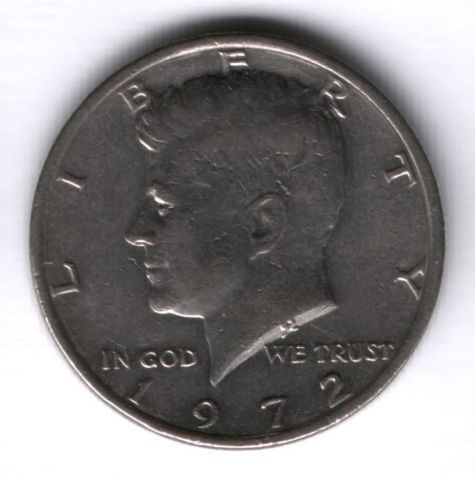 1/2 доллара 1972 г. США