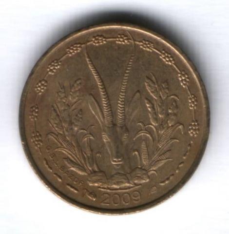5 франков 2009 г. Западные Африканские Штаты