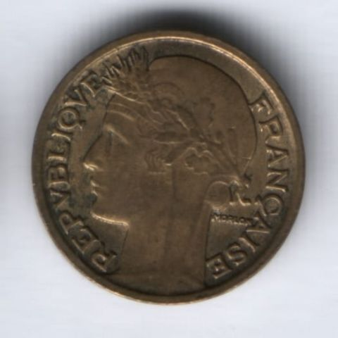 50 сантимов 1933 г. Франция