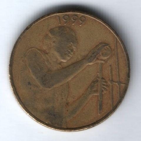 25 франков 1999 г. Западные Африканские Штаты