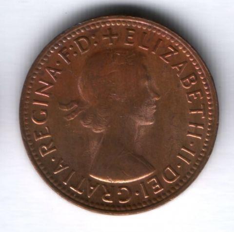1/2 пенни 1964 г. Австралия