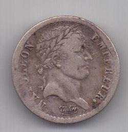 1/2 франка 1808 г. Франция