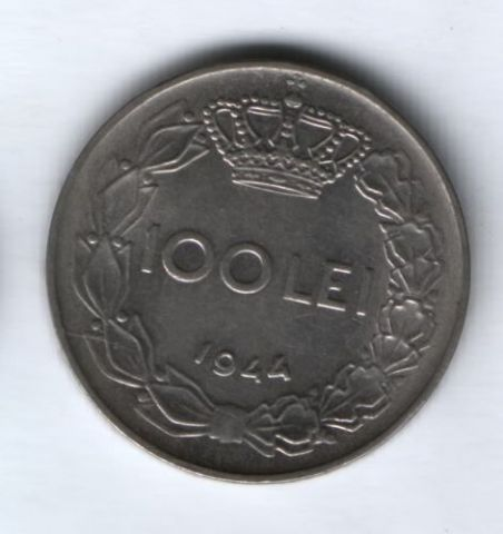 100 лей 1944 г. Румыния