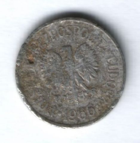 10 грошей 1966 г. Польша