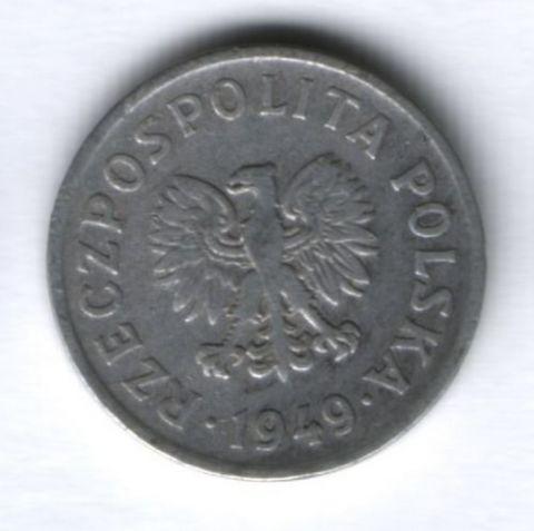 20 грошей 1949 г. Польша, VF