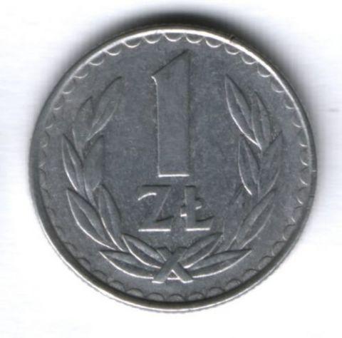 1 злотый 1984 г. Польша