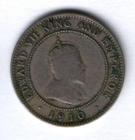 1/2 пенни 1910 г. Ямайка