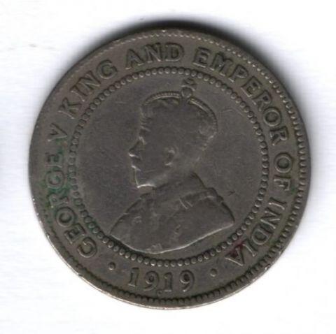 1 пенни 1919 г. Ямайка