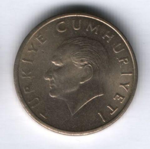 10000 лир 1996 г. Турция XF
