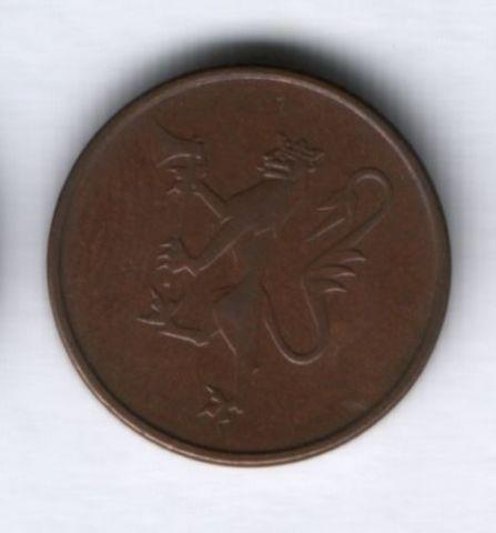 5 эре 1980 г. Норвегия