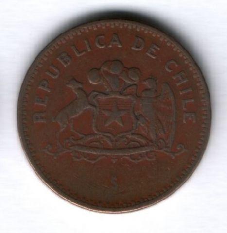 100 песо 1991 г. Чили