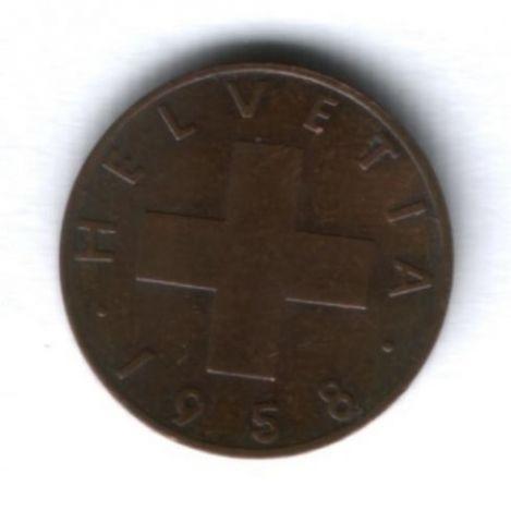 1 раппен 1958 г. Швейцария