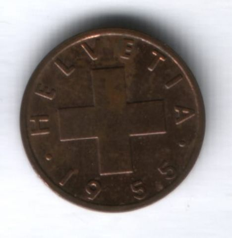 1 раппен 1955 г. Швейцария