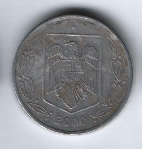500 лей 2000 г. Румыния