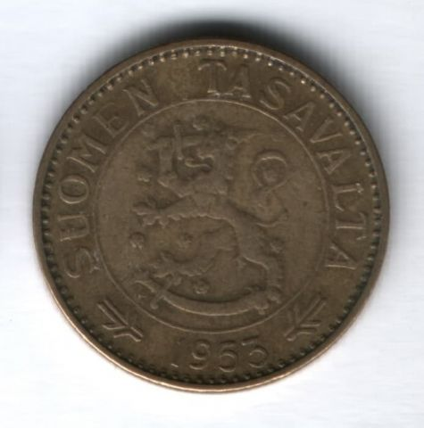 50 марок 1953 г. Финляндия