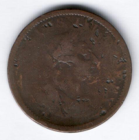 1 пенни 1805 г. Ирландия