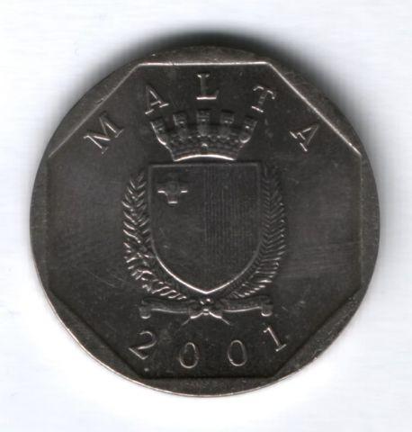 50 центов 2001 г. Мальта