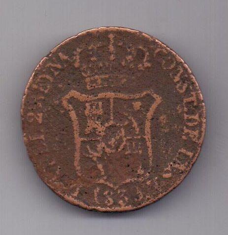 6 кварт 1836 г. Каталония. Испания