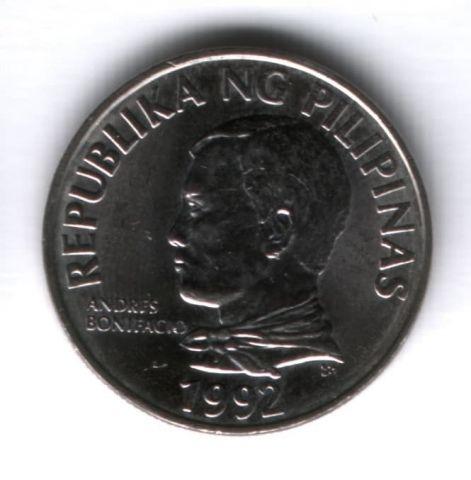 2 песо 1992 г. Филиппины AUNC