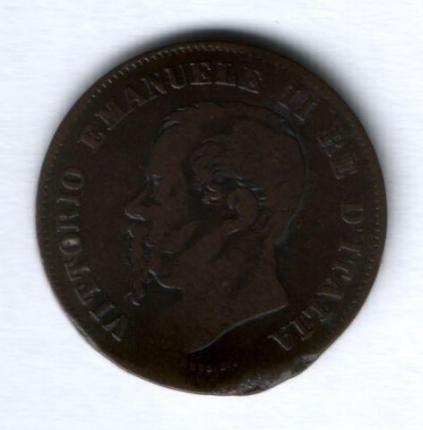 5 чентезимо 1861 г. M, Италия