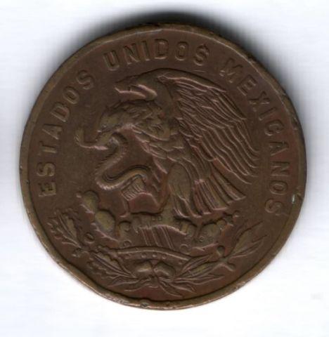 20 сентаво 1963 г. Мексика