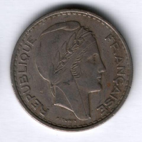 100 франков 1952 г. Алжир
