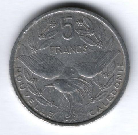 5 франков 1952 г. Новая Каледония, VF