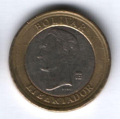1 боливар 2007 г. Венесуэла