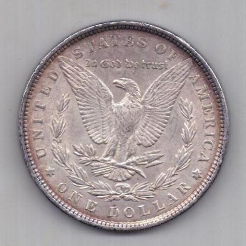 1 доллар 1896 г. AUNC. США