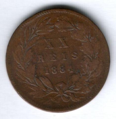20 рейс 1884 г. Португалия