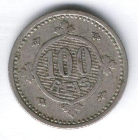 100 рейс 1900 г. Португалия