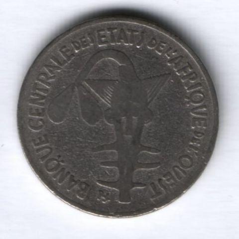 100 франков 1971 г. Западные Африканские Штаты