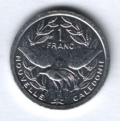 1 франк 2008 г. Новая Каледония