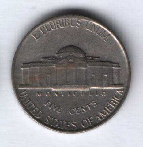 5 центов 1941 г. США, XF