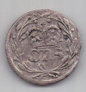 2 оре (эре) 1666 г. Швеция