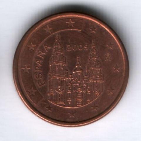 5 евроцентов 2009 г. Испания