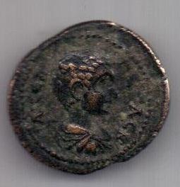 драхма 204-222 гг. Антиохия. Сирия. Рим