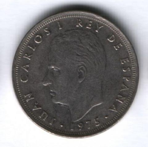 25 песет 1980 г. Испания