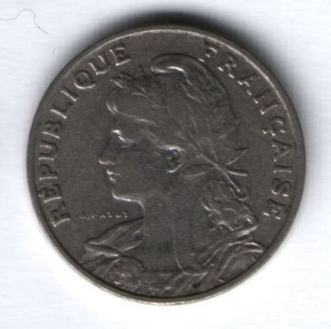 25 сантимов 1903 г. Франция, XF