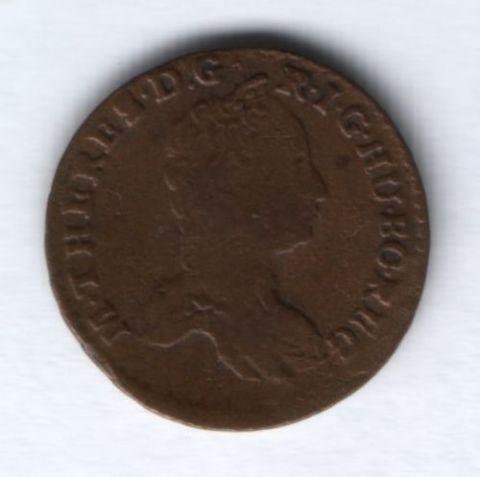1 пфенниг 1765 г. Австрия, XF-