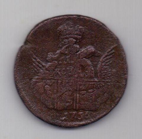1 копейка (облачник) 1756 г. ММД