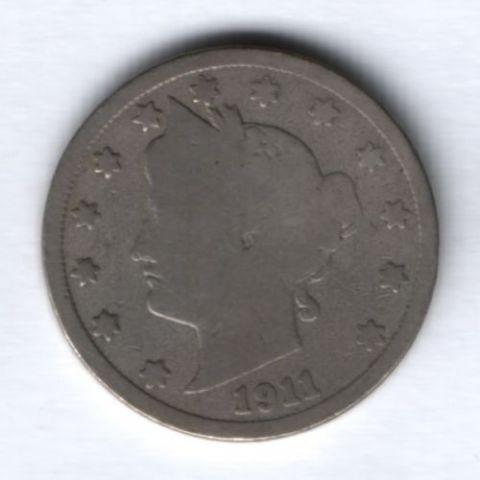5 центов 1911 г. США